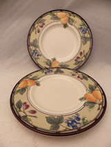 "Mikasa ""Intaglio"" Garden Harvest CAC29 - Set/lot - 2 Bread & Butter plat... - $7.91"