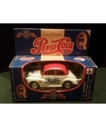 Vtg Pepsi Cola Custom Replica Collection Morris Minor Die Cast Metal Car... - $24.30