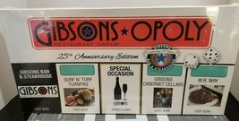 Gibsons - Opoly 25th Anniversary Board Game - Factory Sealed - NEW - $35.45