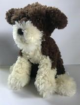 """Gund Designer Pups Vochon-Mischa Dog Brown Cream stuffed animals 9"""" - $28.97"""