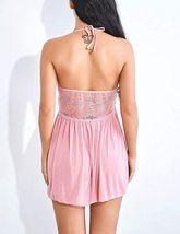 Women Lingerie Lace Babydoll Dress Deep V Neck Lingerie image 5