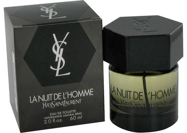 Yves Saint Laurent La Nuit De L'Homme 2.0 Oz Eau De Toilette Cologne Spray