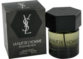 Yves Saint Laurent La Nuit De L'Homme 2.0 Oz Eau De Toilette Cologne Spray image 1