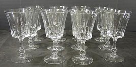Twelve Fostoria Iced Tea Glasses * Georgian Pattern Stem #6097 - $166.20