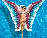 Summer Pool Float Rafts Butterfly Large Beach Toy Lounge Inflatable Angel Wings