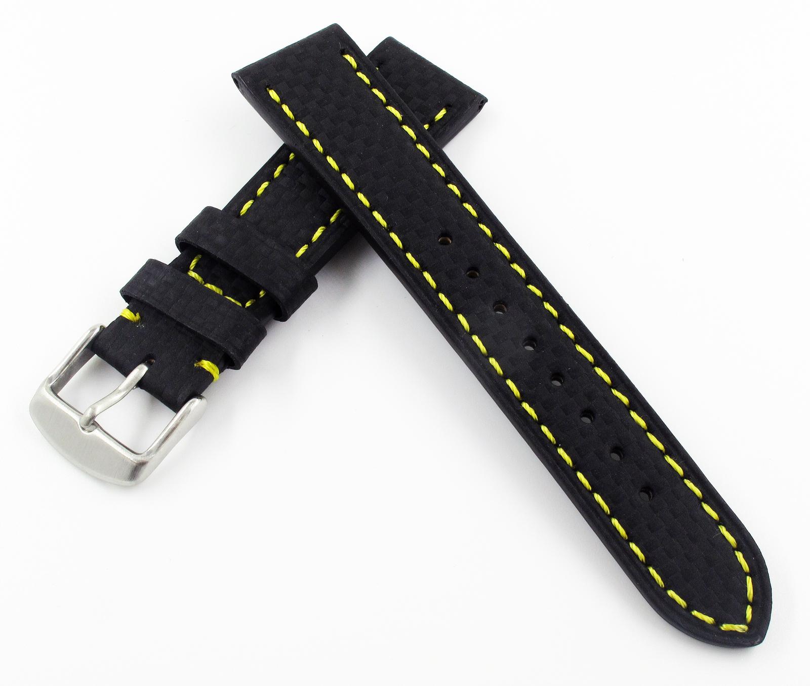 9703d052c33 20mm Black Carbon Fiber Genuine Leather and 50 similar items. Img 0013