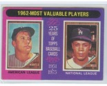 1975topps200mickeymantle  maurywillsmvp  willscardneverissued thumb155 crop
