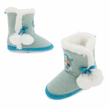 Disney Frozen Slippers Child Size 2/3 Disney Store Elsa Booties Boots - $17.95