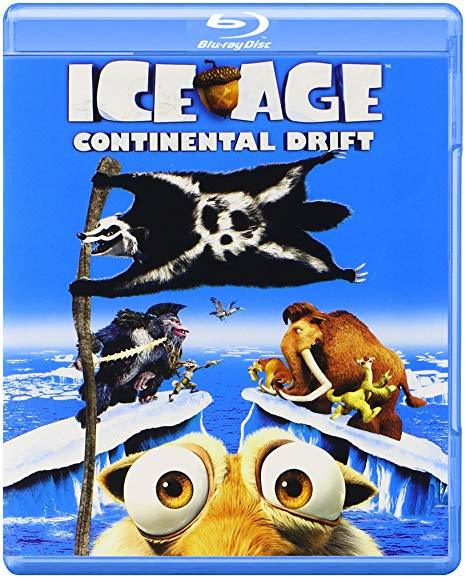 Ice Age: Continental Drift [Blu-ray + DVD]