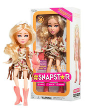 "#SNAPSTAR Aspen 9"" Doll with Stand New in Box - $13.88"