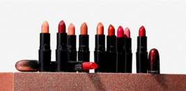 MAC Collector of the Stars Lipstick ALL FIRED Retro Matte Fuchsia Lip St... - $19.50