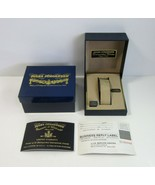 Vintage Jules Jurgensen Empty Watch Presentation Case with Outer Box and... - $19.99