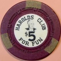$5 Casino Chip, Harolds Club, Reno, NV. Pappy #2. T91. - $4.99
