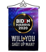 Will you Shut Up Man - Impressions Decorative Metal Wall Hanger Garden F... - $27.97