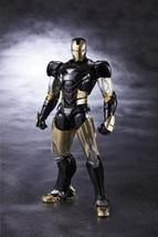 Neu S.H.Figuarts Iron Man Marke 6 Black Ver Actionfigur Bandai Tamashii - $135.12