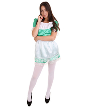 Adult Women's Traditional Maid Uniform Costume   Green Cosplay Costume - $37.85
