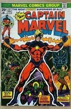 CAPTAIN MARVEL #32 (1974) Marvel Comics VG+/FINE- - $19.79