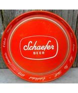 Schaefer Beer Metal Tray Oldest Lager Beer Vintage - $30.00