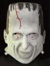 Munsters Herman Munster Frankenstein Rubber Halloween Mask - $44.99