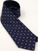 """Brooks Brothers Pure Silk Woven Stain Resistant Blue/Red 58"""" Men's Tie - $42.74"""