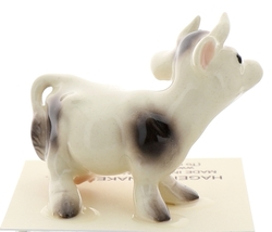 Hagen-Renaker Miniature Ceramic Cow Figurine Spotted Mama and Baby Calf image 11