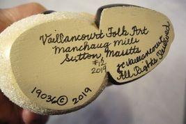 Vaillancourt Folk Art, Santa and Snowman Signed by Judi Vaillancourt image 6