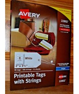 "New by Avery ""Printable Tags w/Strings 22802 (Inkjet) RoxB6-1 - $6.62"