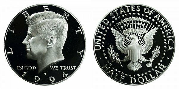 1994 S Proof Kennedy Half Dollar CP2033