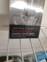 Japonesque Men's Essential Utility Knife Nail File Nail Clipper Scissors  image 3