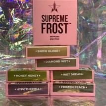SIX NEW IN BOX Jeffree Star Cosmetics SUPREME FROST DIAMOND WET Dream Snow Globe