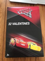 Disney Pixar Cars 3 of 32 Valentines Cards Ships N 24h - $14.83