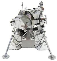 Metallic nano puzzle Apollo lunar lander TMN-37 by Tenyo - $27.00