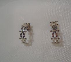 Avon Filigree Hoop Silver Tone Earrings - $6.99