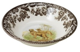 Spode Woodland Hunting Dogs Golden Retriever Cereal Bowl - $25.33