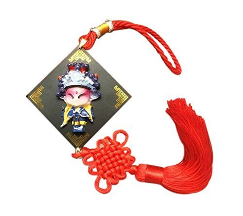 2 Pieces Of Creative Car Ornaments Chinese Knot Pendant, Generals