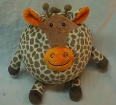 "SOFT FUNNY AND CUTE ROUND GIRAFFE BALL 5"" Plush STUFFED ANIMAL Toy - $14.85"