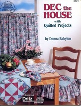 Dec the House with Quilted Projects ASN4421 Quilting Pattern Booklet NEW - $4.47
