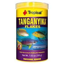 Tropical USA Tanganyika Flakes Fish Food Tin, 200g - $27.39