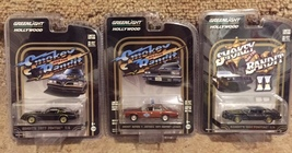 Smokey and the Bandit Car Set - '77 & '80 Trans Ams, Bufford T Justices' Lemans - $37.99