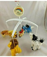 Dolly Noah's Parade Animals Ark Crib Mobile Missing Crib Mount - $10.03