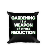 Gardening lover gifts - Square Pillow Case w/ stuffing - $23.00