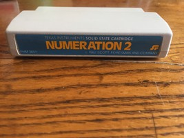 TI 99/4A Numeration 2 rare Scott Foresman math educational game cartridg... - $7.99