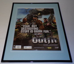 The Outfit 2006 XBox Framed 11x14 ORIGINAL Advertisement - $34.64