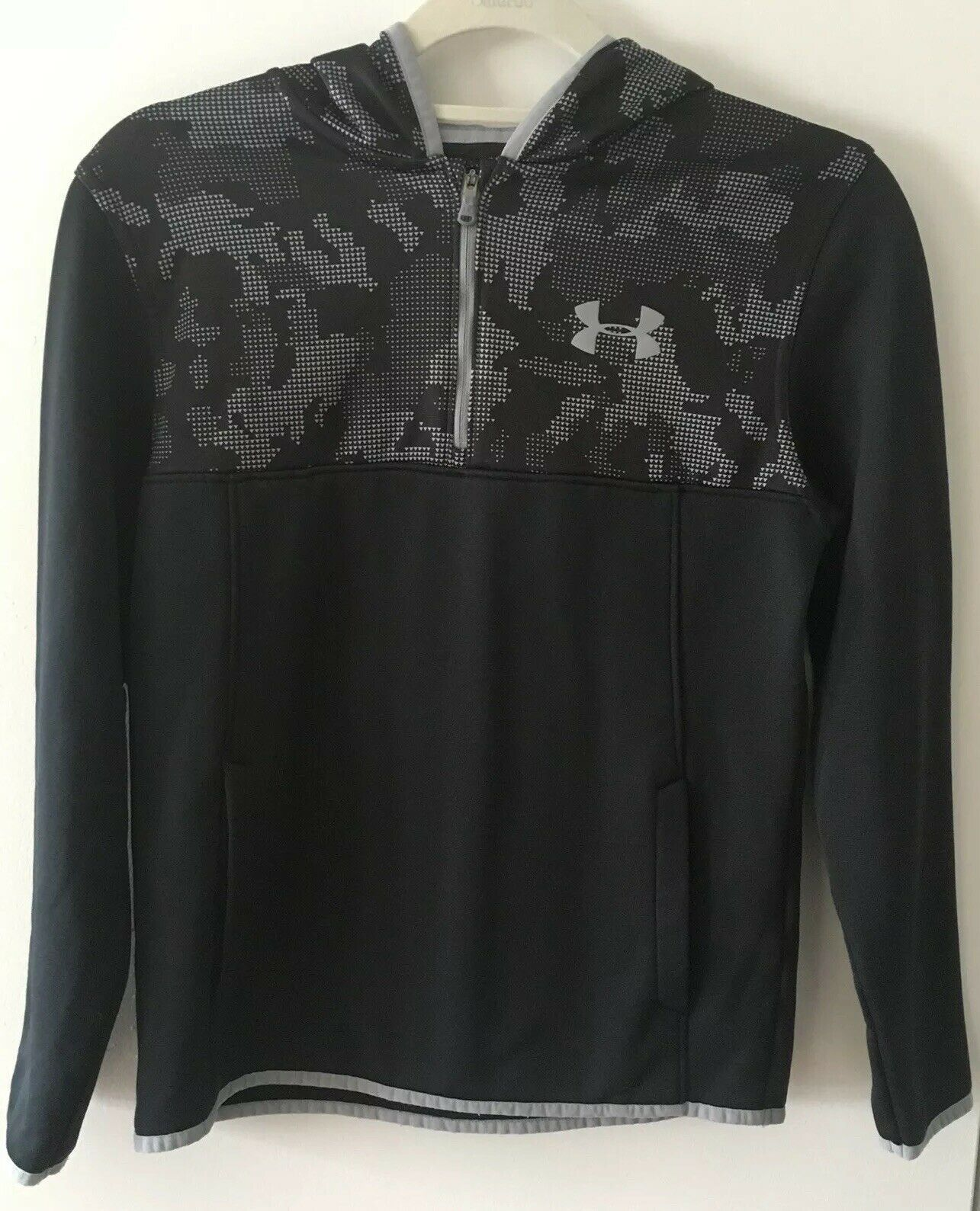 Primary image for Under Armour Coldgear Boys Hooded Sweatshirt Size Youth L