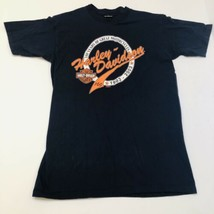 Harley Davidson Motorcycles Denton County TX Size Medium T-shirt 1903-20... - $14.80