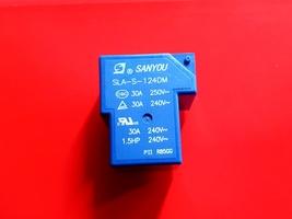 Sla S 124 Dm, 24 Vdc Relay, Sanyou Brand New!! - $6.35
