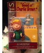 2002 Memory Lane Peanuts Great Pumpkin Charlie Brown Schroeder Playing M... - $79.99