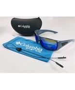 NEW COLUMBIA PFG Blue Polarized BIG KATUNA Sunglasses with Blue Lenses w... - $64.60