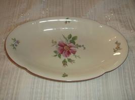 "Konigl pr. Tettau Floral Serving Platter 10"" Bavarian China Germany - $17.50"
