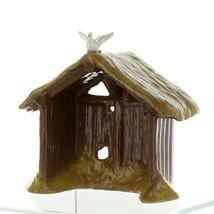 Hagen Renaker Specialty Nativity Manger with Dove Ceramic Figurine image 4